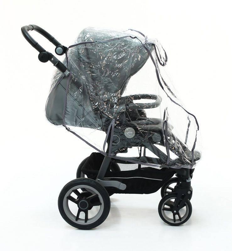 Как правильно одеть дождевик на коляску - parentchild.ru