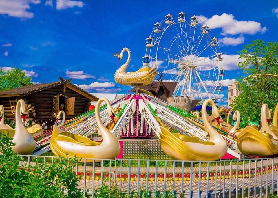 Парки развлечений в москве