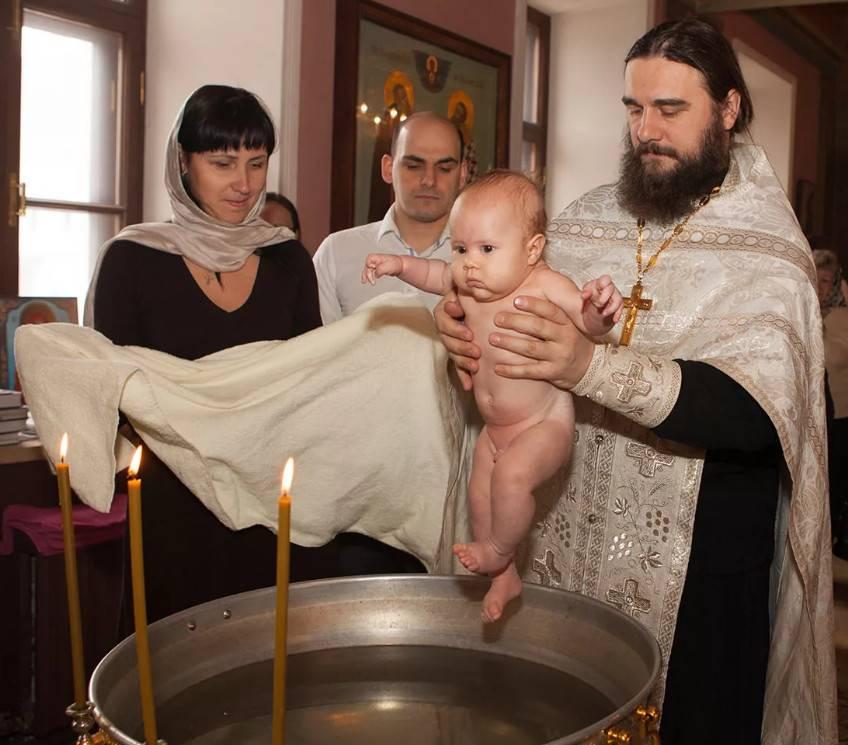 Что нужно знать о крещении ребенка?