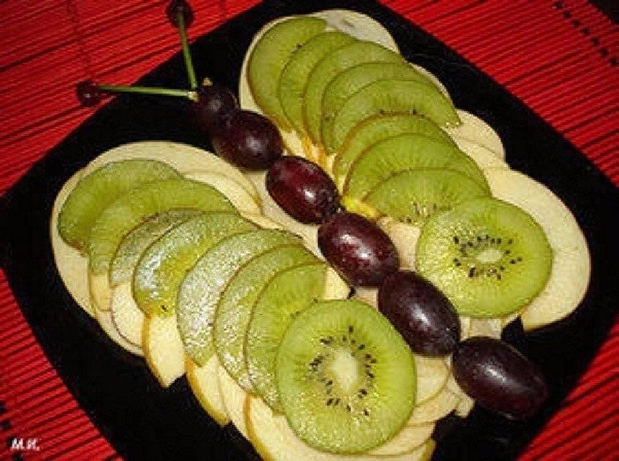 Праздничные фруктовые нарезки: красивое оформление с фото. как красиво нарезать и подать фрукты.