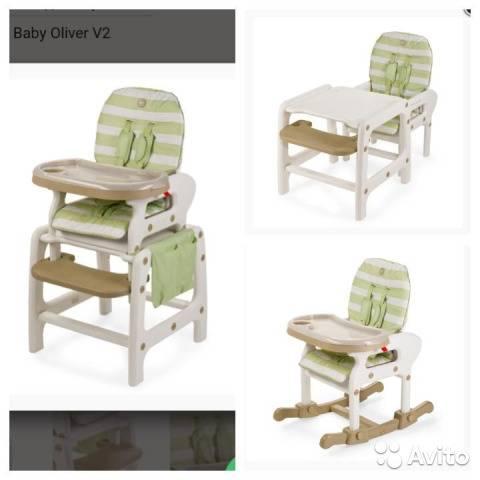 Лучшие детские стульчики для кормления