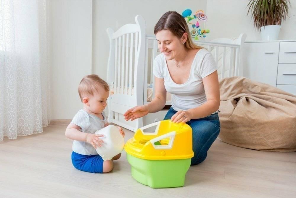 Как приучить ребенка к горшку — 2 методики: за 3 и 7 дней, правила и советы (+ много видео)
