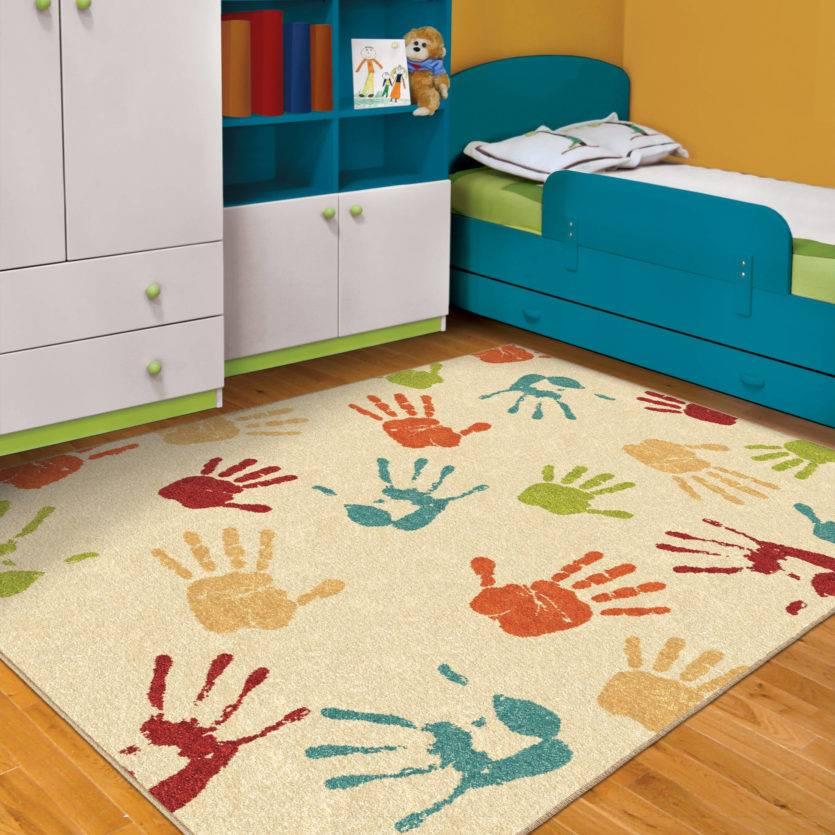 Ковер в детскую комнату - 99 фото стильныйх дизайнерских идей