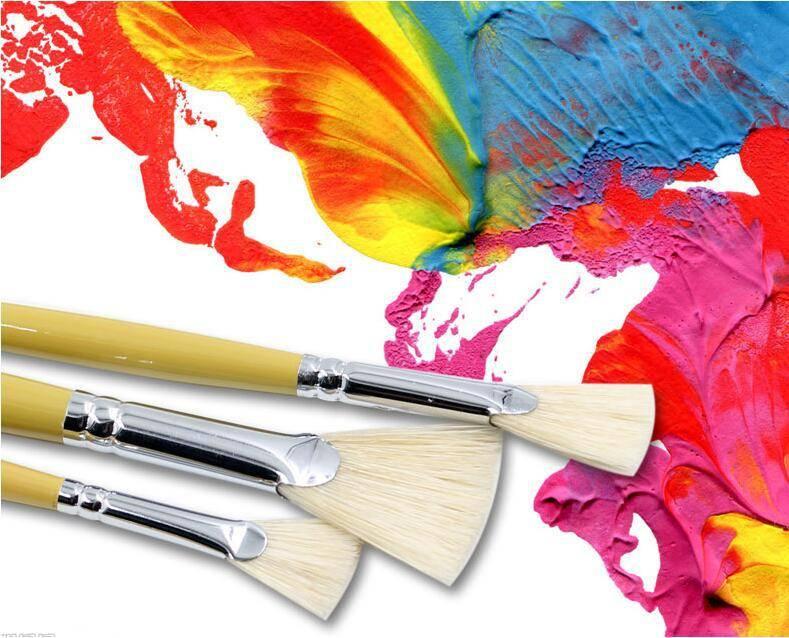 Кисти для акриловых красок: особенности выбора