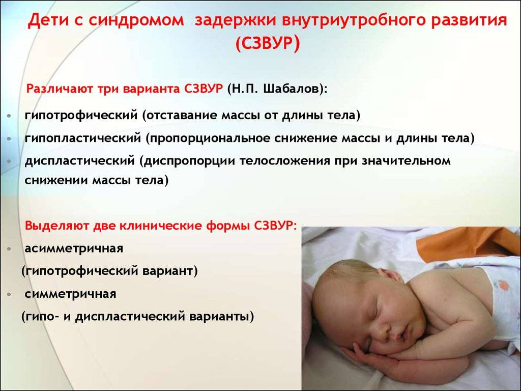 Маловесный плод и здоровье новорожденного. ведение беременности и маловесный плод.