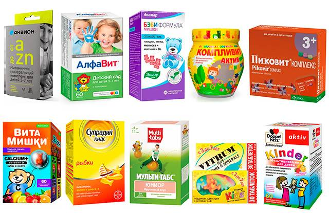14 лучших витаминов для детей