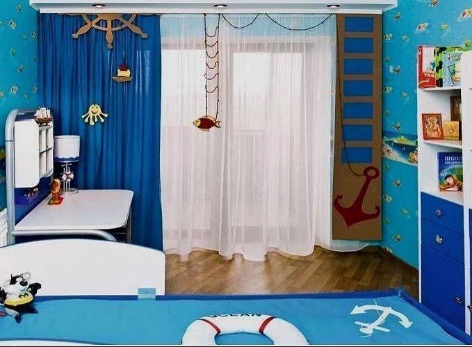 Шторы в морском стиле - 106 фото современных вариантов на морскую тематику