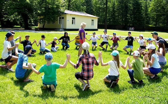 Детские лагеря на черном море