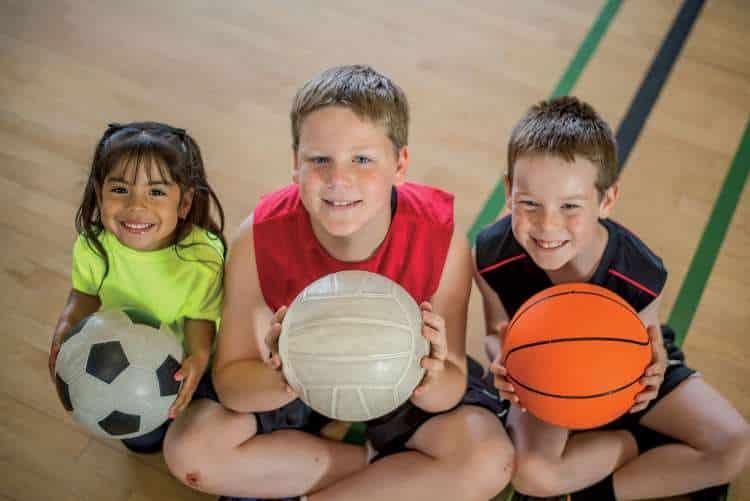 Лучшие спортивные комплексы для детей