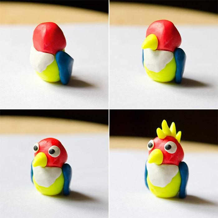 Лепка из пластилина для детей 2-3 лет. простые поделки из пластилина. часть 1 – жили-были