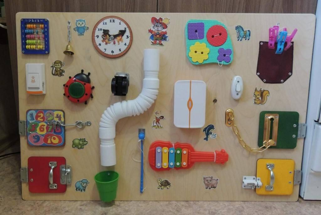 Развивающие игрушки для ребенка своими руками