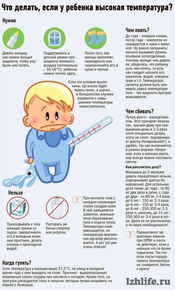 Каким должно быть лечение орви у детей 2-3 лет с ослабленным иммунитетом?