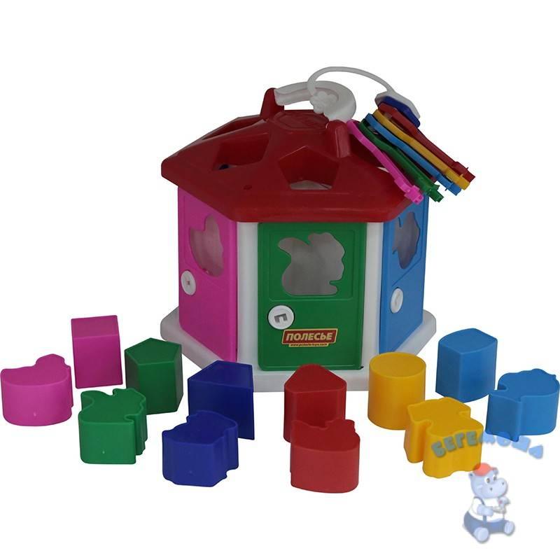 Сортеры для детей от 1 года до 2-3 лет, обзор, отзывы, фото