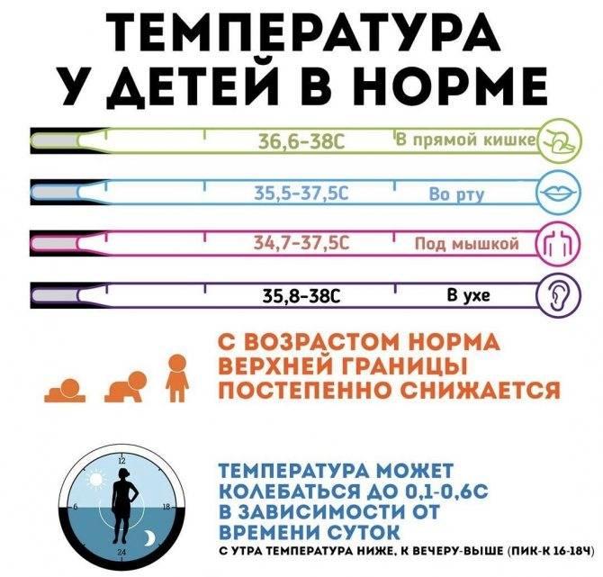 Какая нормальная температура тела должна быть у грудного ребенка ~ факультетские клиники иркутского государственного медицинского университета