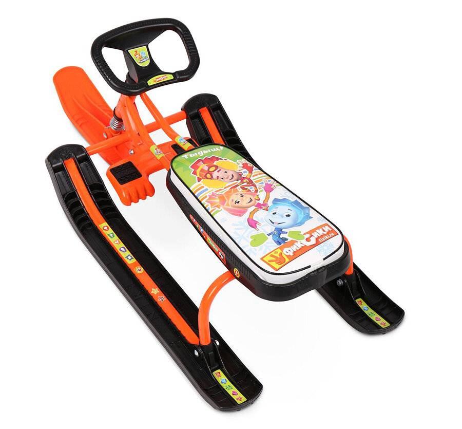 Зимний самокат: выбираем детские снегокаты 2 в 1 на лыжах для зимы и универсальные модели с колесами для снега