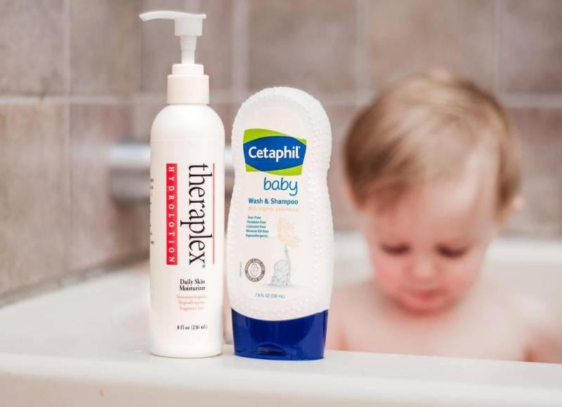 Как часто мыть голову ребенку