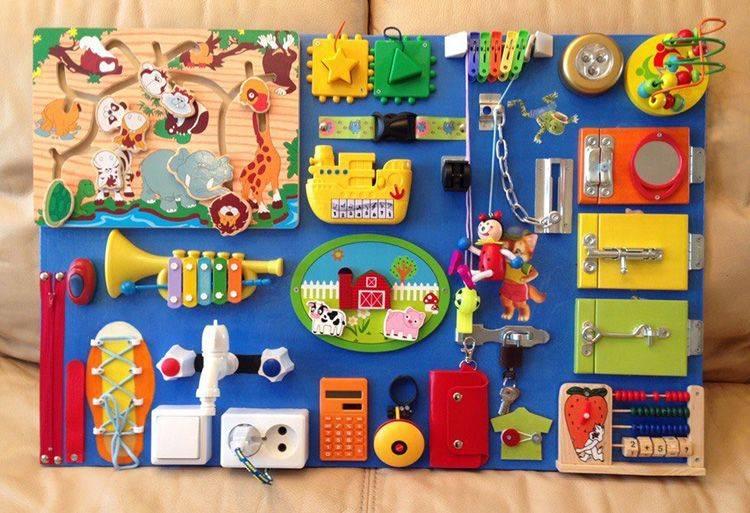 Развивающая доска для детей своими руками: 75 фото идей