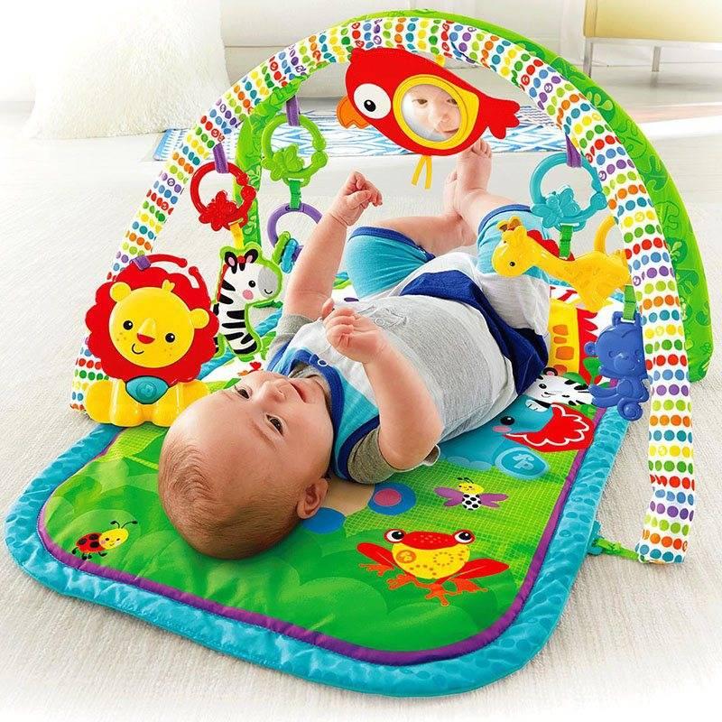 Развивающий коврик для ребенка: рейтинг лучших моделей, как сшить своими руками