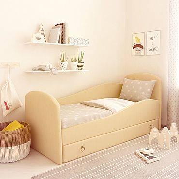 Белая детская кровать: розовая и зеленая кроватка красная звезда, модели цвета венге и слоновой кости