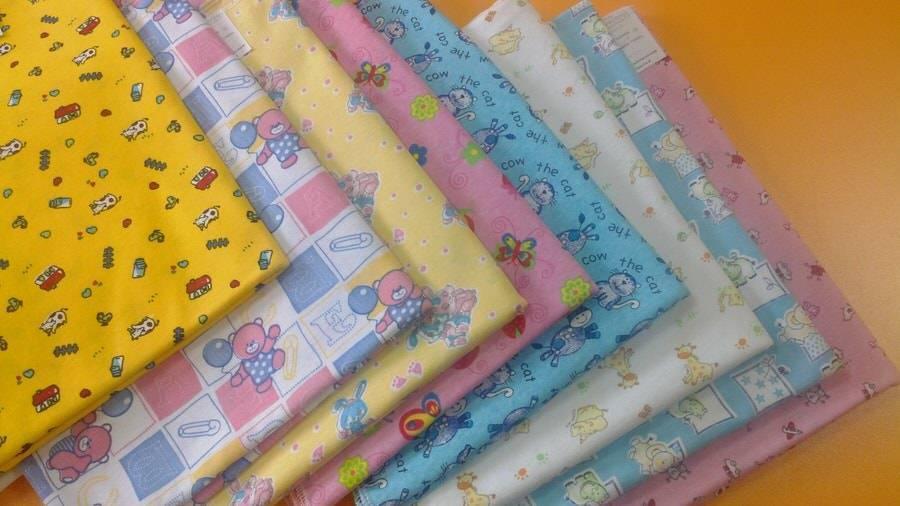 Как шить для новорожденных пелёнки