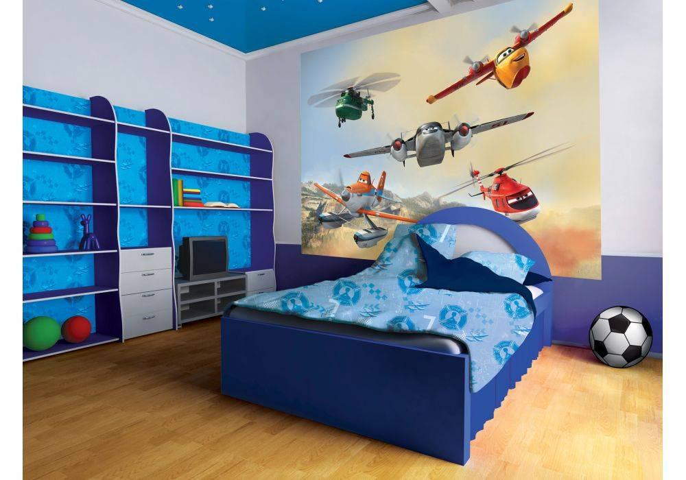 Фотообои в комнату для мальчика: 7 советов по выбору