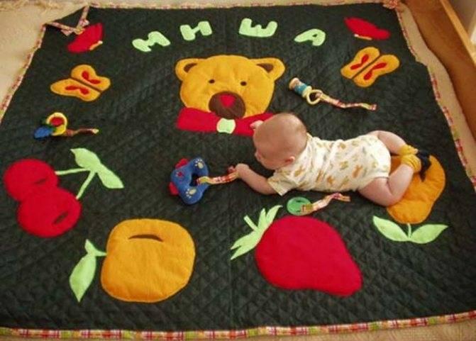 Как сделать детский коврик своими руками :: инфониак