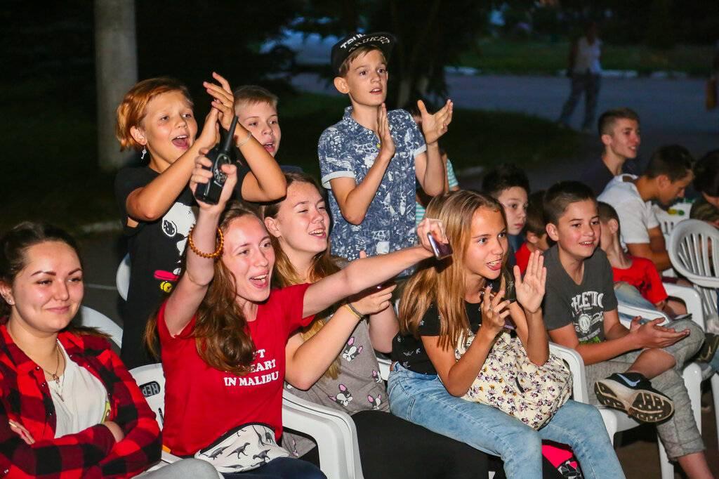 Детские лагеря в россии