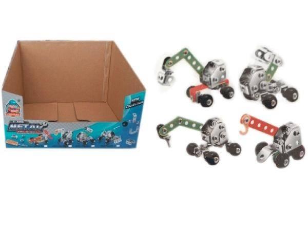 «железяка 1» — робот из «обычного» металлического конструктора