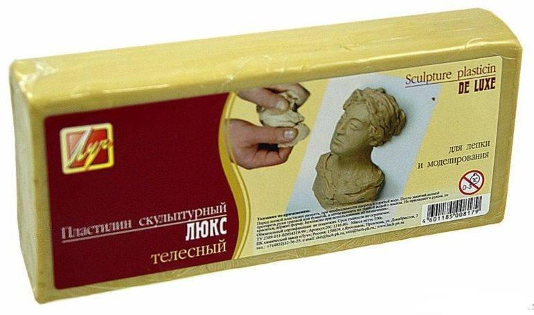 Лепка из скульптурного пластилина: пошаговые уроки