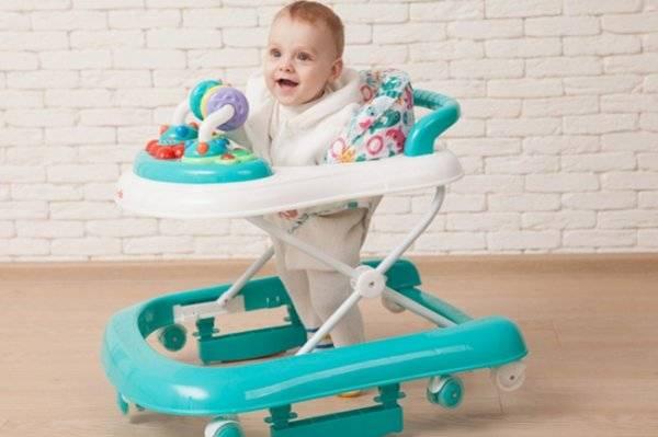 Польза и вред ходунков для ребенка