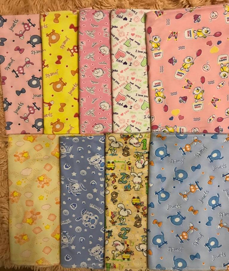 Какая ткань нужна для пеленок. пеленки для новорожденных своими руками