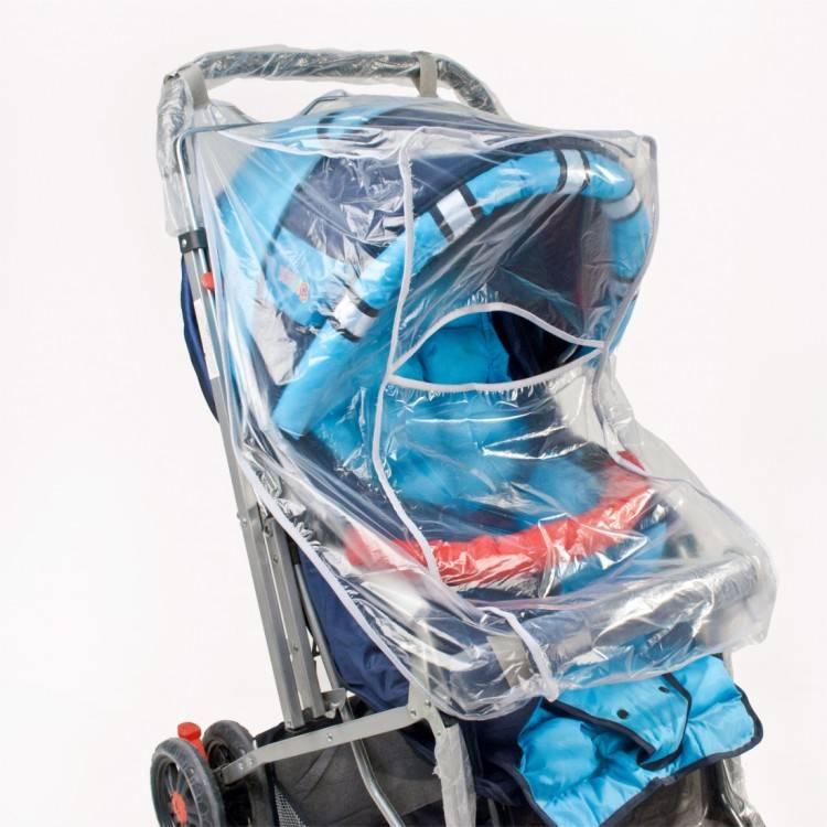 Дождевик на прогулочную коляску: универсальное изделие на любую модель, силиконовый материал с окошком