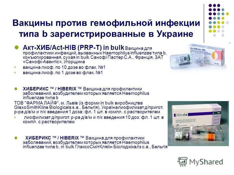 Вакцинация против гемофильной инфекции: схема введения вакцины   food and health