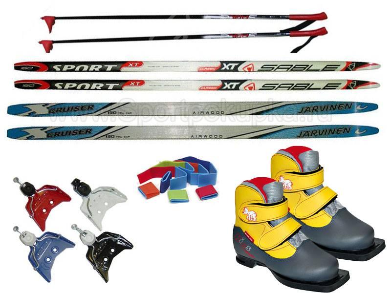 Детские лыжи — как правильно выбрать?
