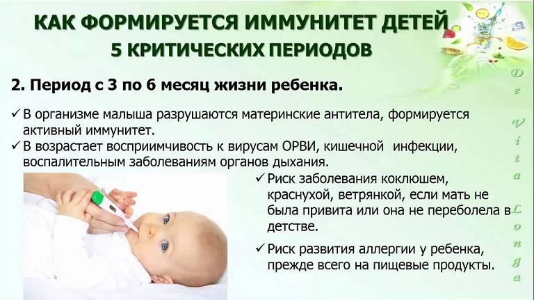 ➤ как повысить иммунитет ребенка в 2 года