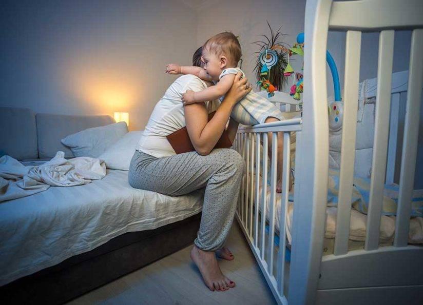 Ребёнок не хочет спать в своей кроватке, что делать