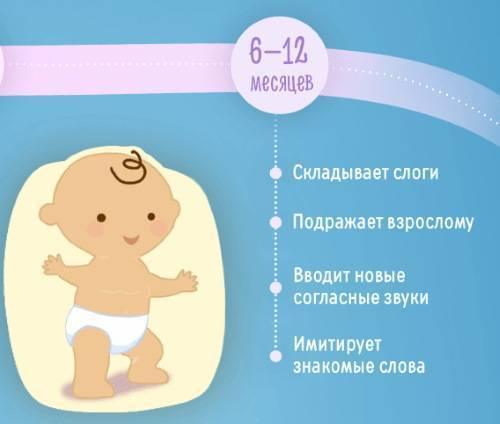 От 9 до 10 месяцев