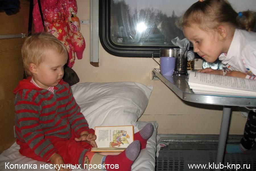 С какого возраста можно ездить на поезде одному без взрослых?