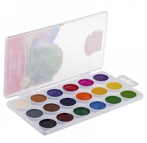 Разновидности красок для художественного творчества