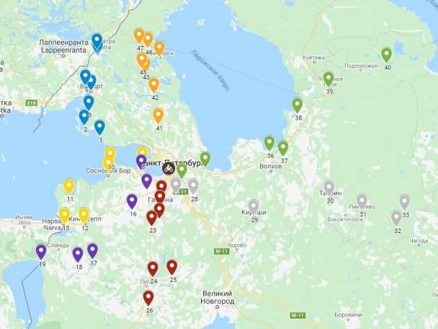 Куда поехать с детьми в ленинградской области: список мест для отдыха