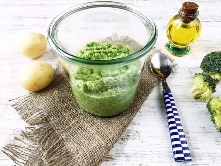 Как приготовить пюре из брокколи для грудничка