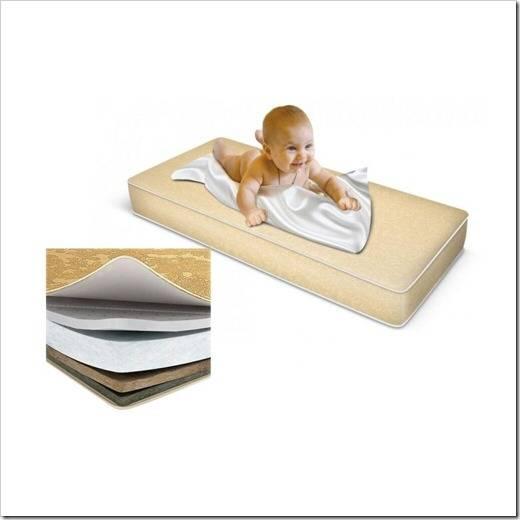 Как и какой матрас лучше выбрать для новорожденного, рейтинг лучших брендов и моделей