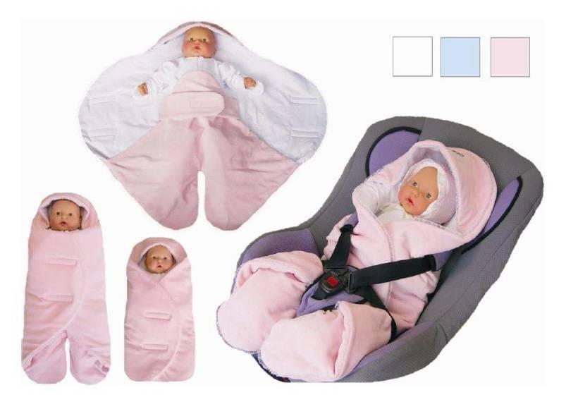 Конверт-одеяло для новорожденного своими руками на выписку