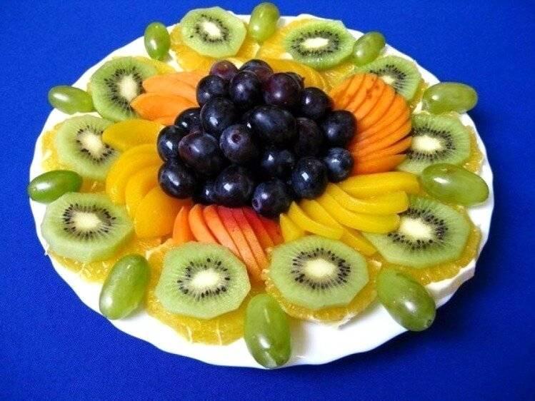 Красивая фруктовая нарезка: как оформитькарвингиз свежих фруктов в виде фруктовой тарелки, вазы или ассорти