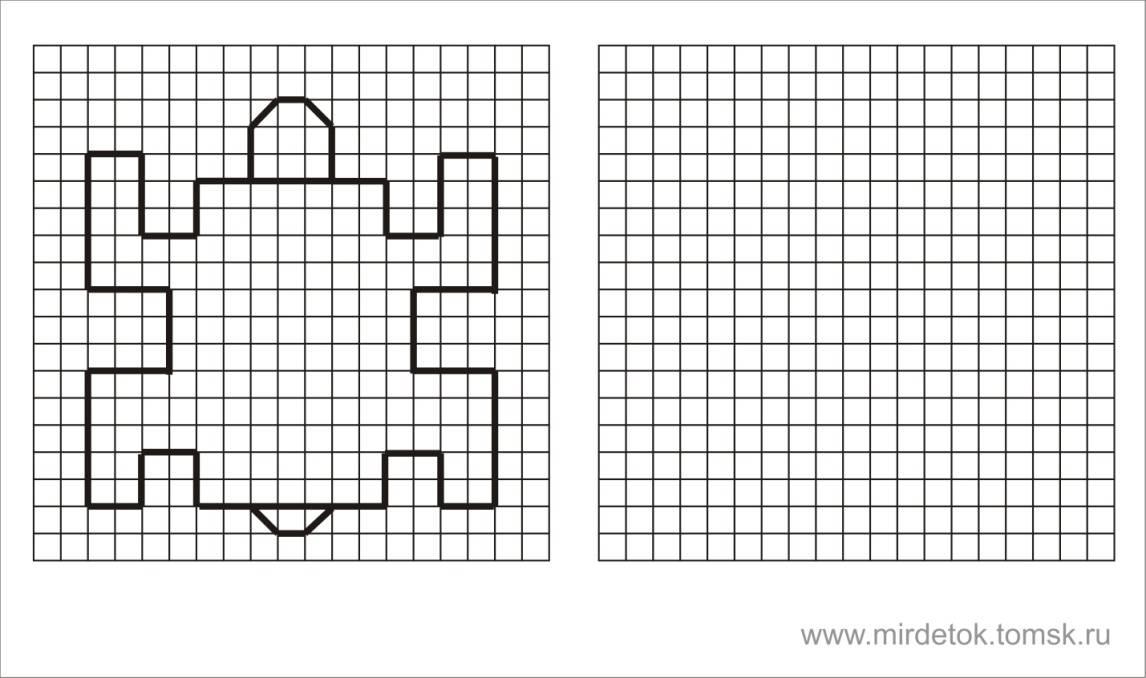 Интегрированная нод в соответствии с фгос. графический диктант (рисование по клеточкам) «заяц». воспитателям детских садов, школьным учителям и педагогам - маам.ру