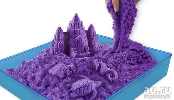 Кинетический песок: что это такое