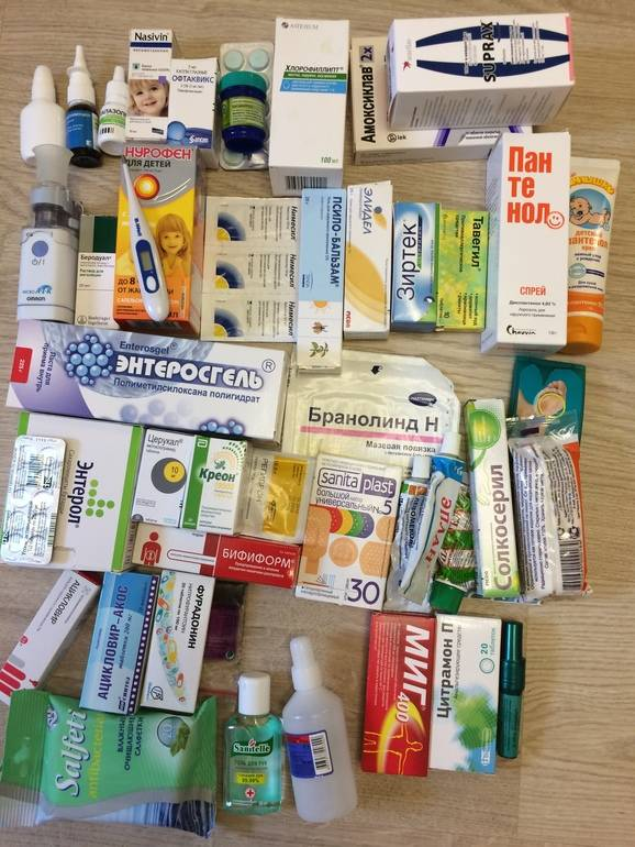 Аптечка в дорогу. состав аптечки для путешествия с детьми на море