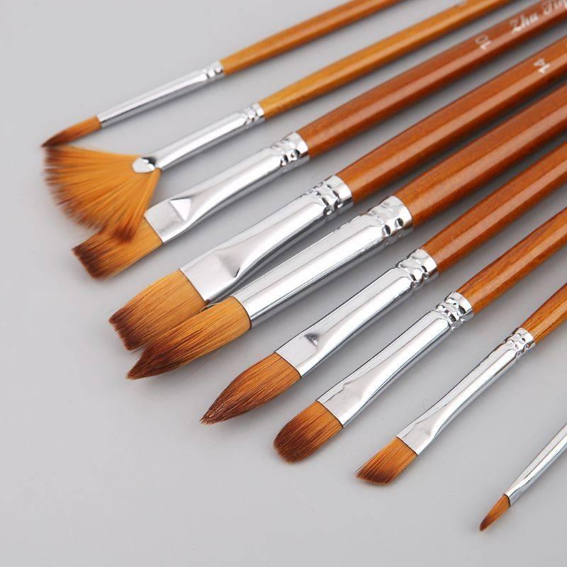 Как очистить кисточку от краски - обзор методов и средств