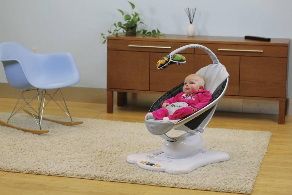 Качели для новорожденных. электронные качели