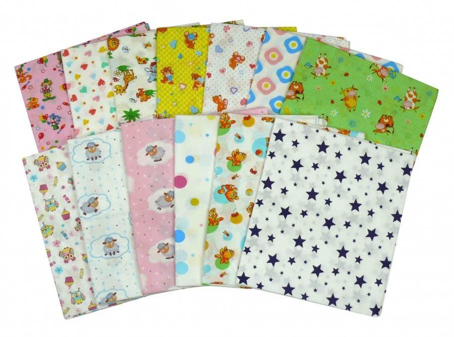 Пеленки для новорожденных, виды пеленок